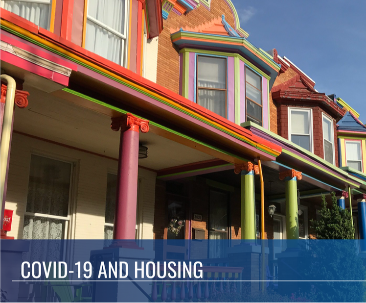 Click here to learn more about our work around housing responses to COVID-19.